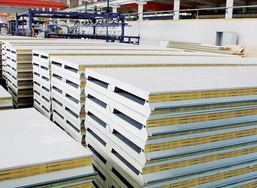 屋面板JXB45-500-1000型保温夹芯板