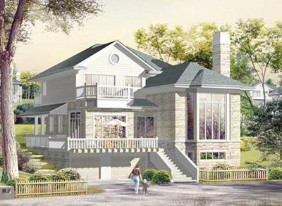 温州二层钢结构别墅造价